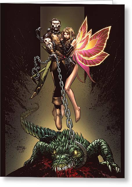 Tinker Bell Greeting Cards - Neverland 01A Greeting Card by Zenescope Entertainment