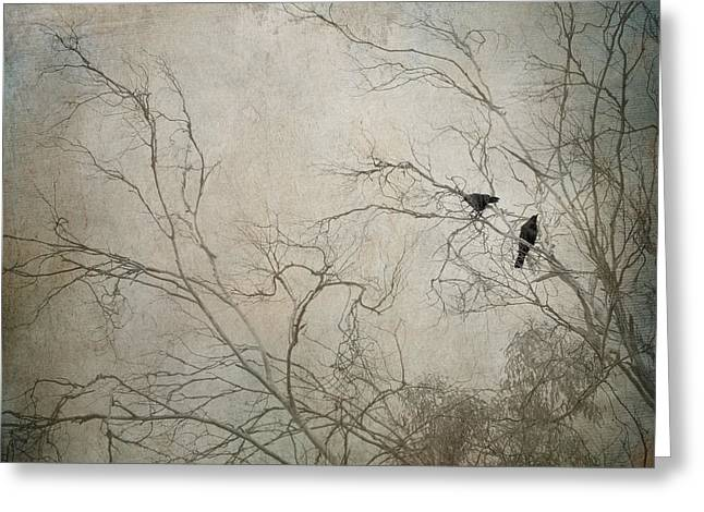 Mysterious Greeting Card featuring the photograph Nevermore... by Amy Weiss