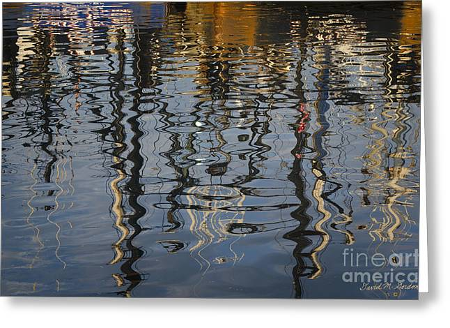 New Bedford Waterfront No. 5 Greeting Card by David Gordon
