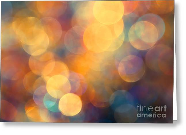 Defocused Greeting Cards - New Beginning Greeting Card by Jan Bickerton