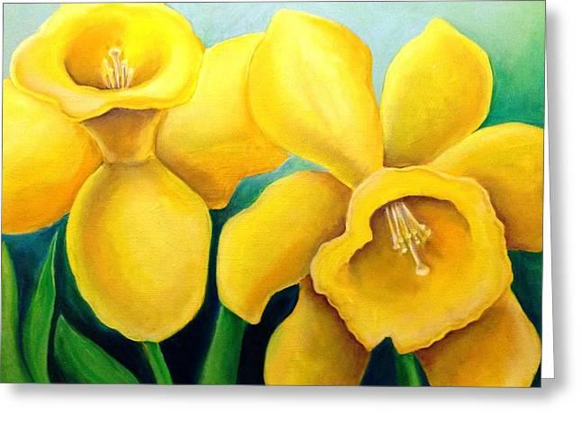 Floriography Greeting Cards - New Beginnings Greeting Card by Heidi Prange