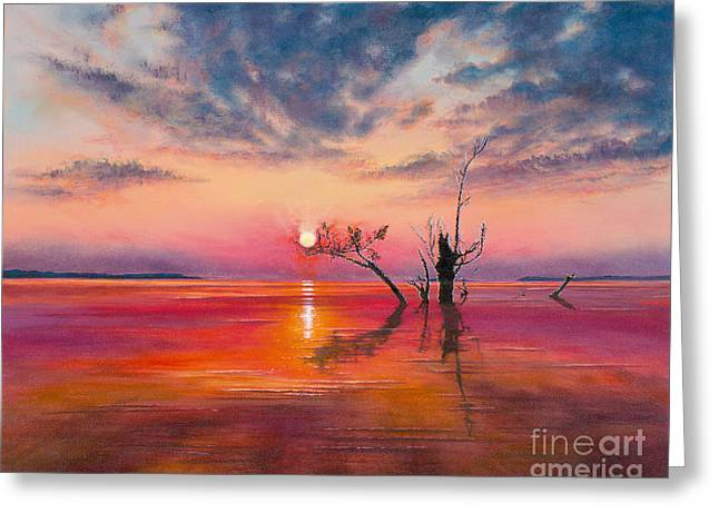 Amazon Greeting Card Greeting Cards - New Dawn Greeting Card by Jeanette French