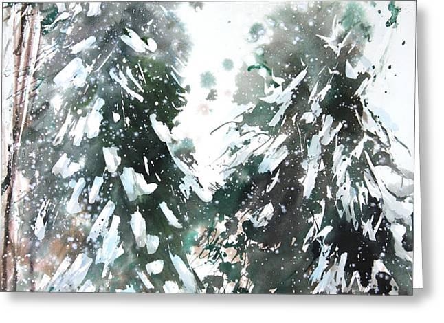 New England Landscape No.223 Greeting Card by Sumiyo Toribe