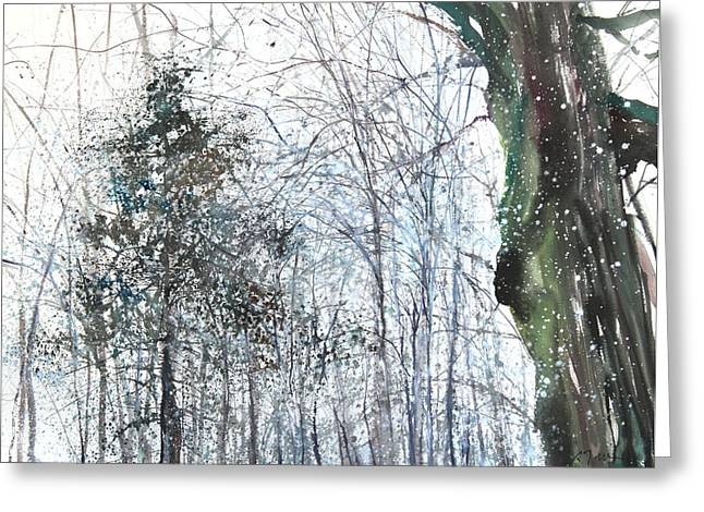 Sumiyo Toribe Greeting Cards - New England Landscape No.224 Greeting Card by Sumiyo Toribe