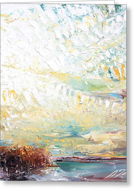 Sumiyo Toribe Greeting Cards - New England Landscape No.79 Greeting Card by Sumiyo Toribe