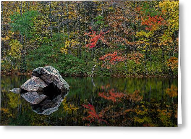 New England Foliage Greeting Cards - New England Photography Greeting Card by Juergen Roth