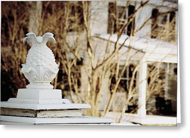 Covered Bridge Greeting Cards - New England Welcome Greeting Card by JAMART Photography