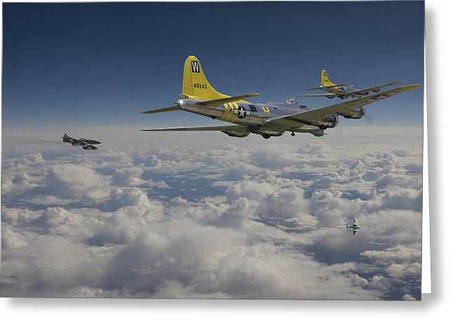 Me262 Greeting Cards - New Era Dawns Greeting Card by Pat Speirs