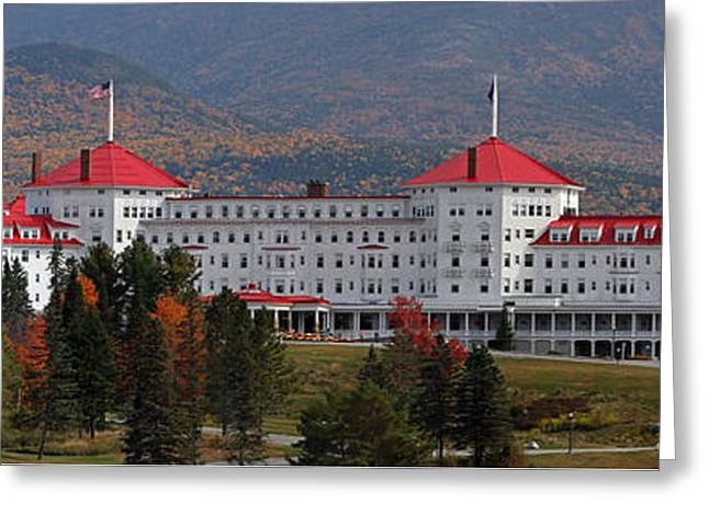 The Mount Washington Hotel Greeting Cards - New Hampshire Mount Washington Hotel Greeting Card by Juergen Roth