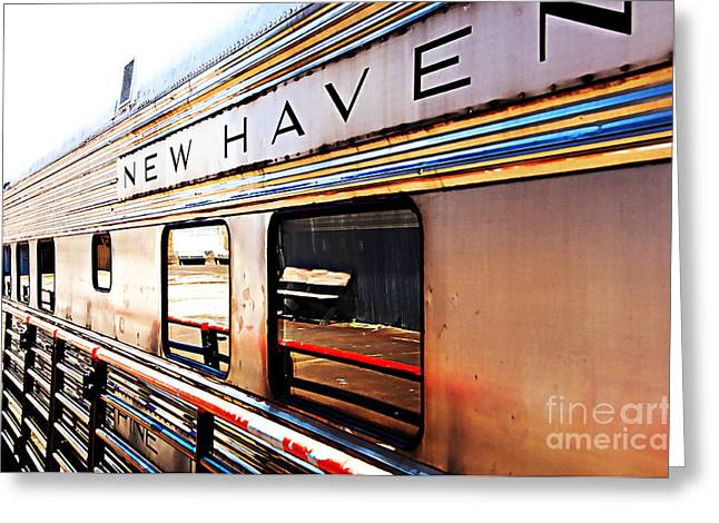 Stein Greeting Cards - New Haven Greeting Card by Nancy E Stein