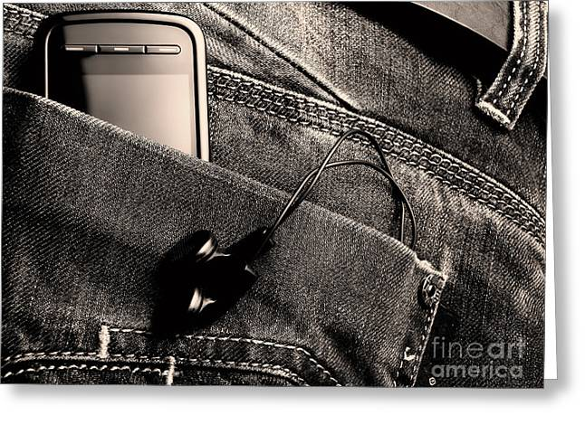 Wire Mobile Greeting Cards - New jeans generation Greeting Card by Sinisa Botas