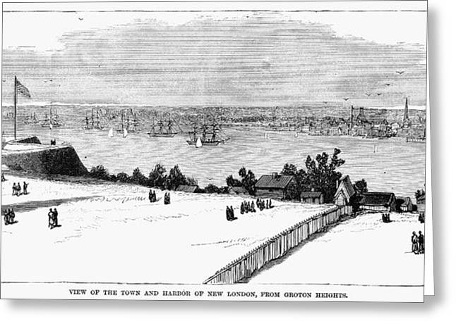 New London, Connecticut Greeting Card by Granger