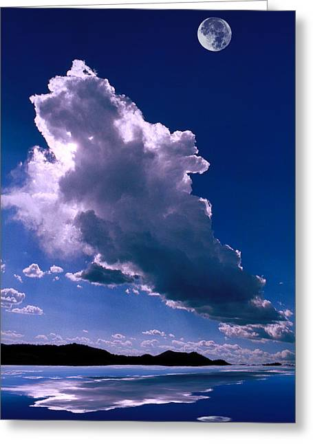 Jerry West Greeting Cards - New Mexico Sky Greeting Card by Jerry McElroy