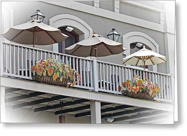 Unbrella Greeting Cards - New Orleans 1 Greeting Card by TN Fairey