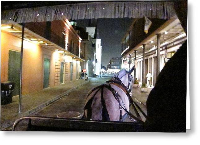 Nightlife Greeting Cards - New Orleans - City at Night - 121215 Greeting Card by DC Photographer