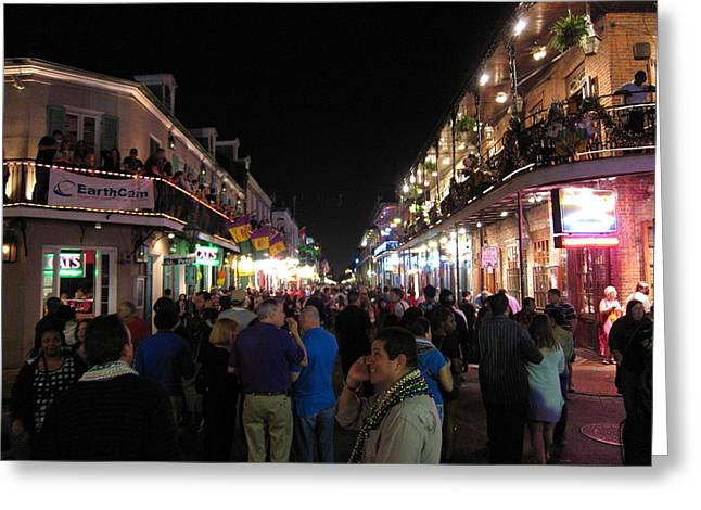 Night Greeting Cards - New Orleans - City at Night - 12124 Greeting Card by DC Photographer
