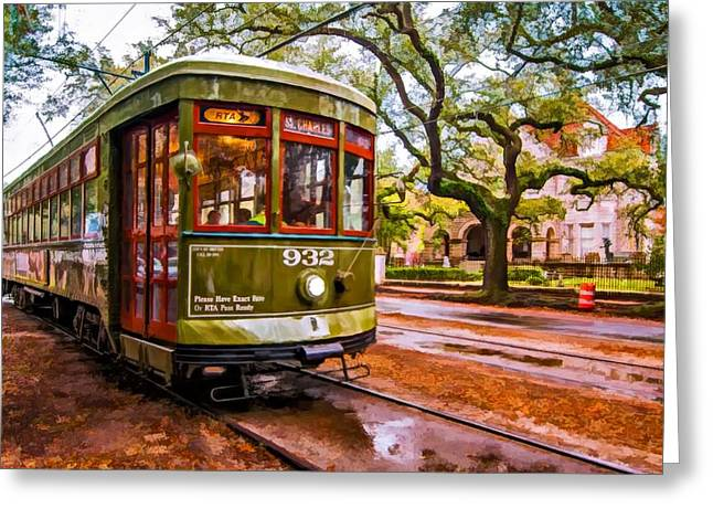 Steve Harrington Greeting Cards - New Orleans Classique oil Greeting Card by Steve Harrington