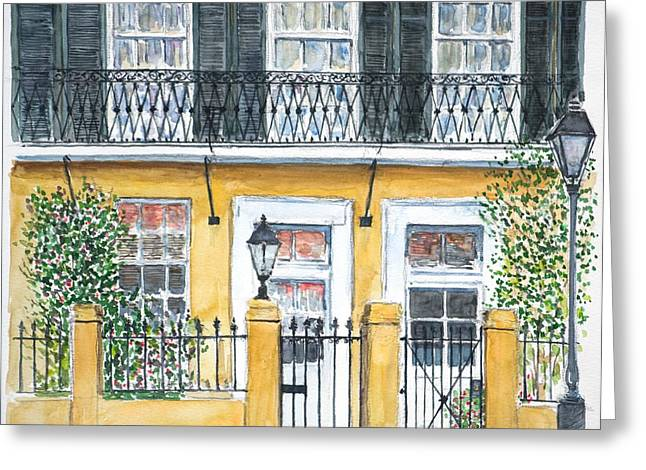 New Orleans Home Greeting Cards - New Orleans Dauphine Street Greeting Card by Anthony Butera
