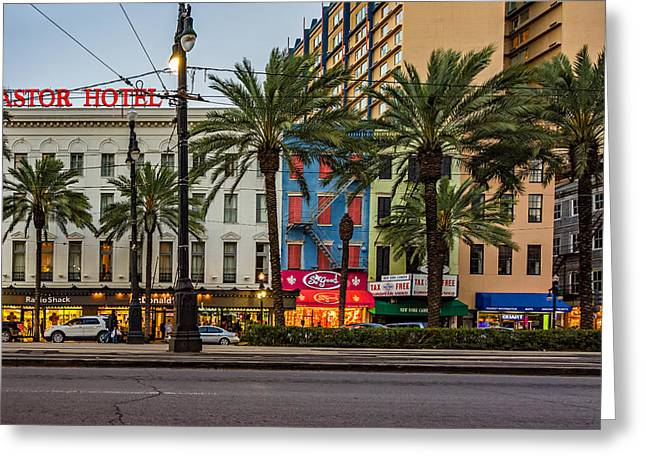 Ts Greeting Cards - New Orleans Downtown 2 Greeting Card by Steve Harrington
