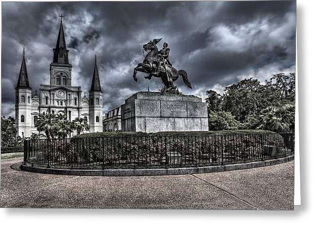 New Orleans Greeting Card by Lijie Zhou