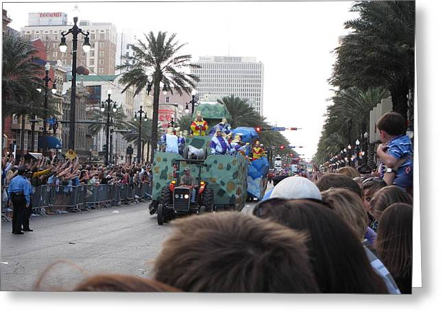 New Greeting Cards - New Orleans - Mardi Gras Parades - 121212 Greeting Card by DC Photographer