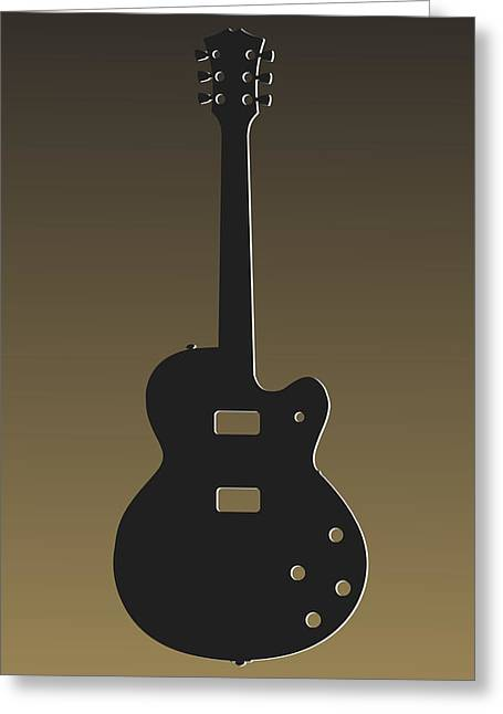 Concert Bands Photographs Greeting Cards - New Orleans Saints Guitar Greeting Card by Joe Hamilton
