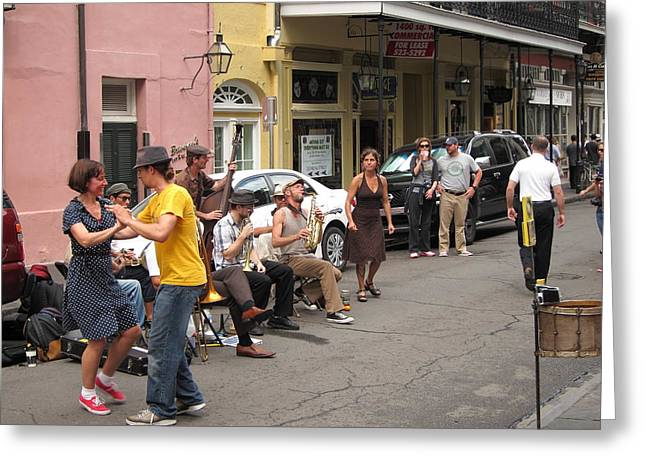 Citylife Greeting Cards - New Orleans - Seen On The Streets - 121233 Greeting Card by DC Photographer