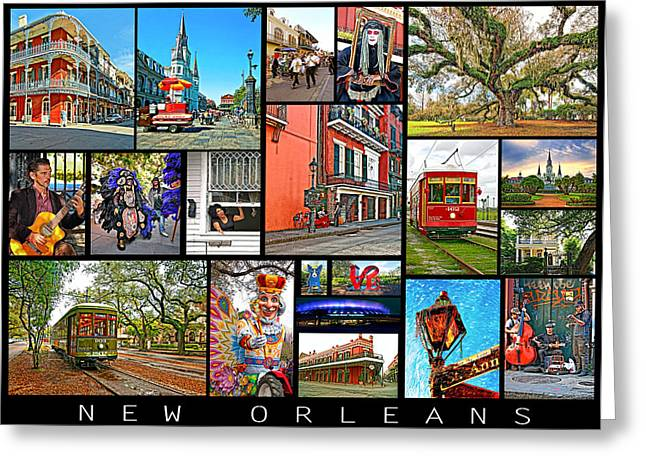 French Quarter Home Greeting Cards - New Orleans Greeting Card by Steve Harrington