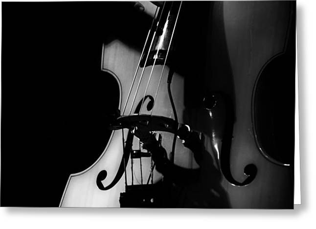 New Orleans Strings Greeting Card by Brenda Bryant