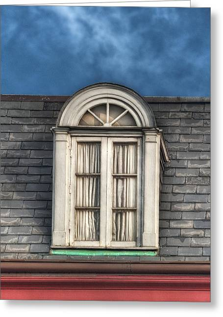 Brenda Bryant Photography Greeting Cards - New Orleans Window Greeting Card by Brenda Bryant