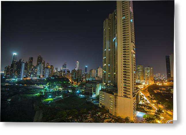 New Panama Greeting Card by Aaron S Bedell