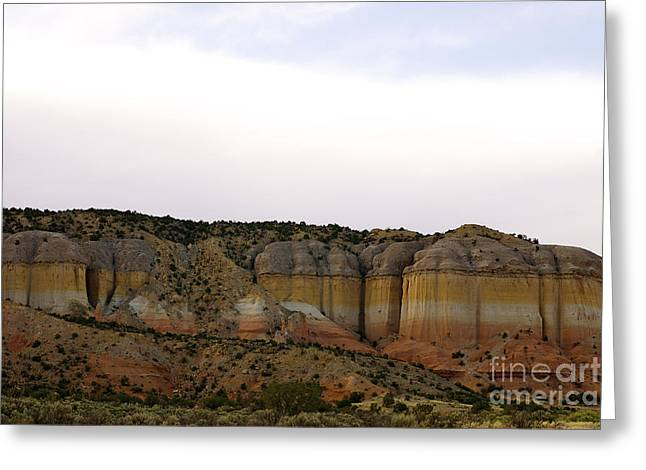 New Photographic Art Print For Sale Breaking Bad Country New Mexico Greeting Card by Toula Mavridou-Messer