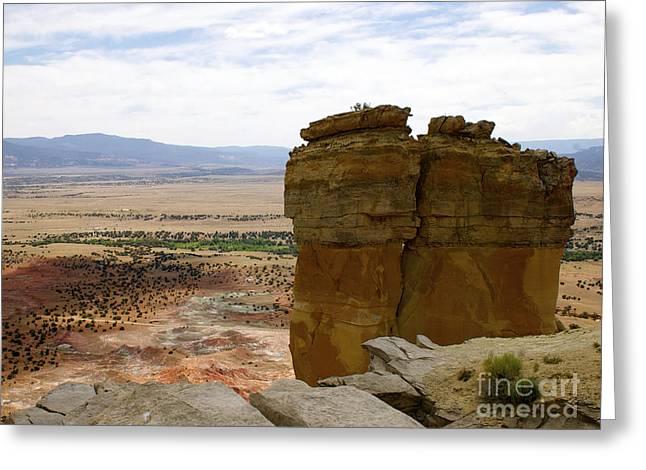 New Photographic Art Print For Sale Ghost Ranch New Mexico 10 Greeting Card by Toula Mavridou-Messer