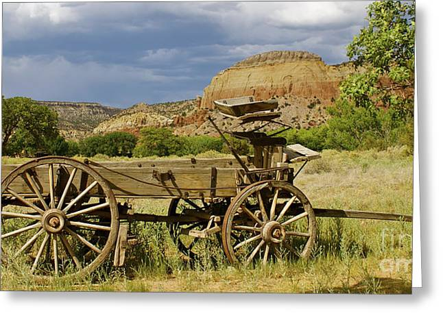 New Photographic Art Print For Sale Ghost Ranch New Mexico 13 Greeting Card by Toula Mavridou-Messer