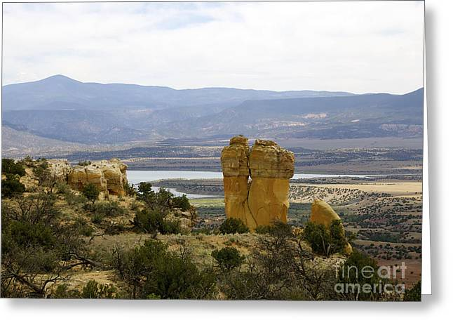 New Photographic Art Print For Sale Ghost Ranch New Mexico 3 Greeting Card by Toula Mavridou-Messer