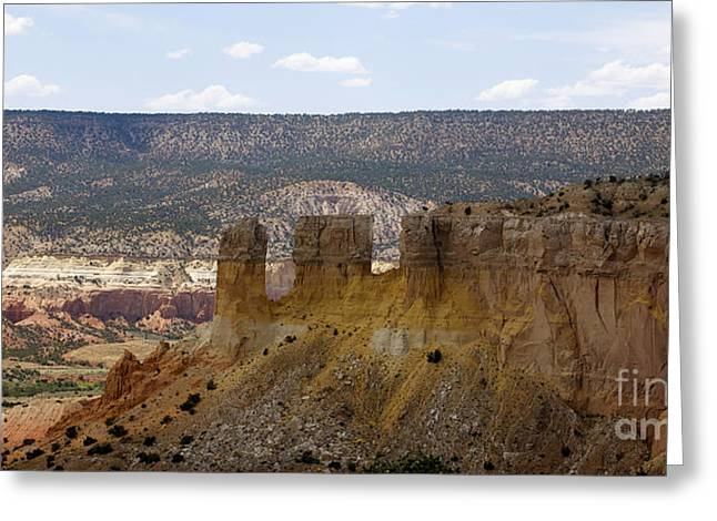 New Photographic Art Print For Sale Ghost Ranch New Mexico 8 Greeting Card by Toula Mavridou-Messer