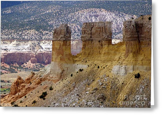 New Photographic Art Print For Sale Ghost Ranch New Mexico 9 Greeting Card by Toula Mavridou-Messer