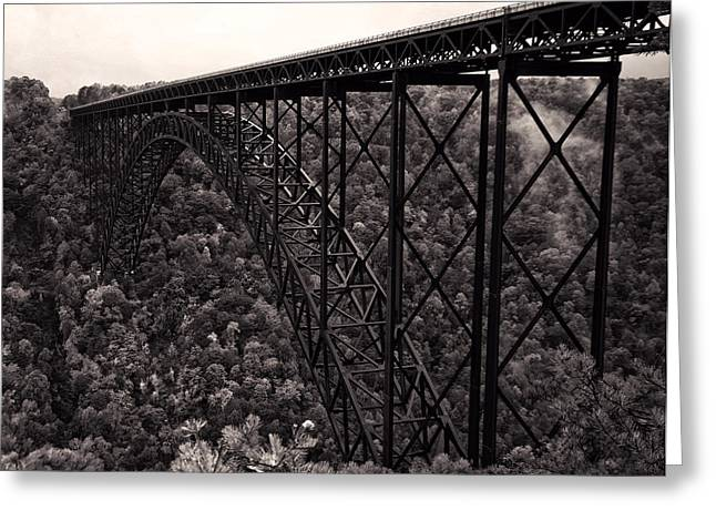 New River Gorge Bridge  Greeting Card by Chris Flees