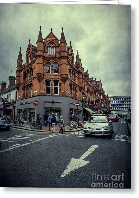 Dublin Greeting Cards - New Road. Old City. Greeting Card by Evelina Kremsdorf
