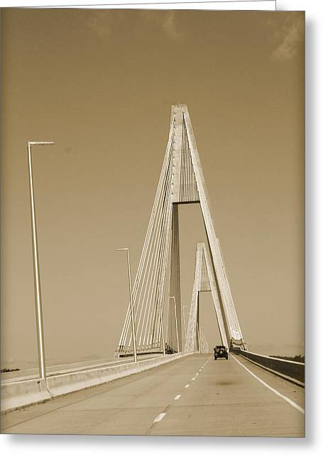 Owensboro Greeting Cards - New Road Traveled Greeting Card by Michelle Will