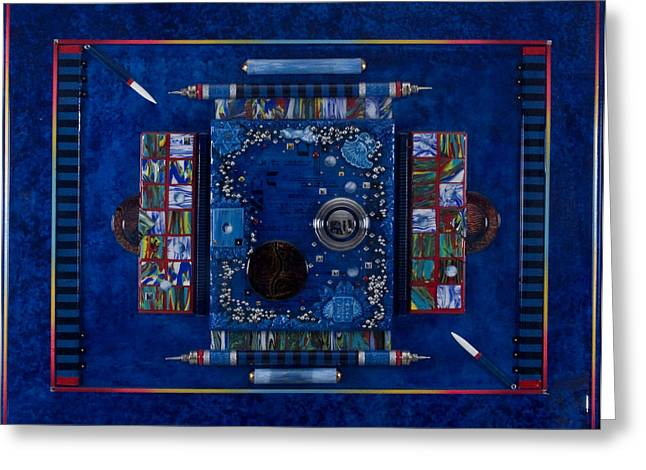New World Equilibrium Greeting Card by Armand Elgrissy