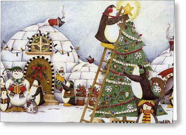 New Year Greeting Cards - New Year Greeting Card by Victor Gladkiy