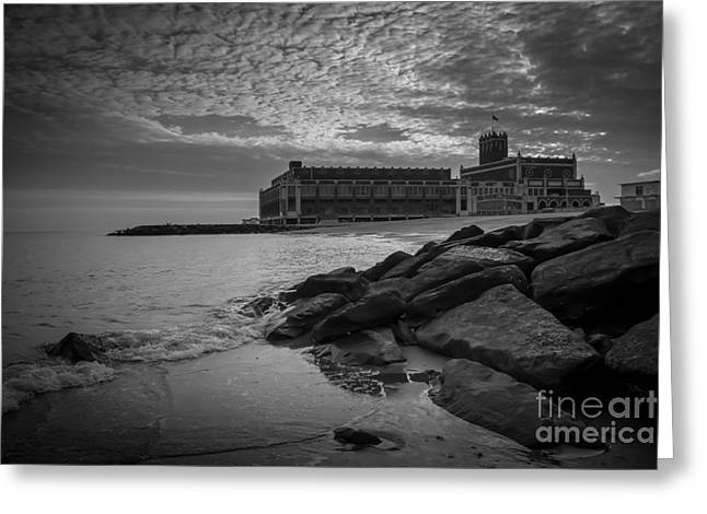 New Years Day In Asbury Park Greeting Card by David Rucker
