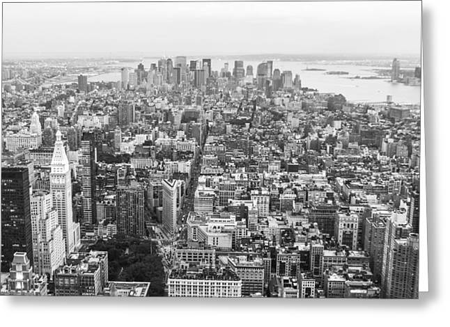 U2 Photographs Greeting Cards - New York Greeting Card by Alex Hiemstra