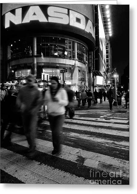 Knicks Greeting Cards - New York City 2 Greeting Card by Bob Stone