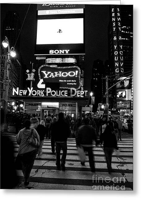 Knicks Greeting Cards - New York City 3 Greeting Card by Bob Stone