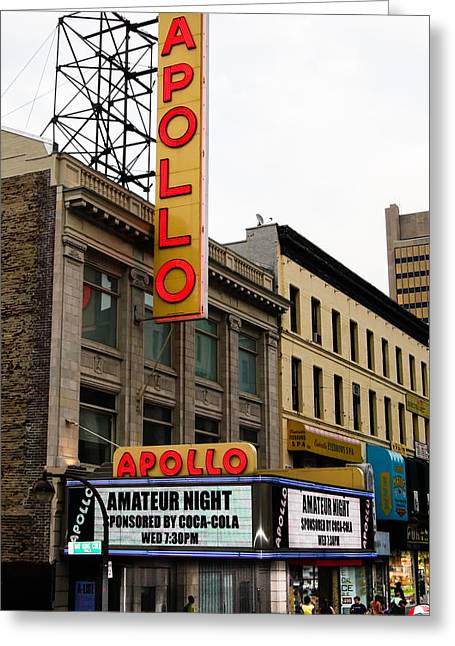 New York City - Apollo Theater  Greeting Card by Russell Mancuso