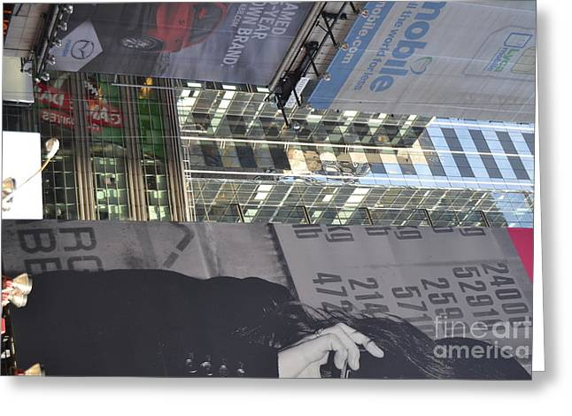 New York City Iv Greeting Card by Robert Daniels
