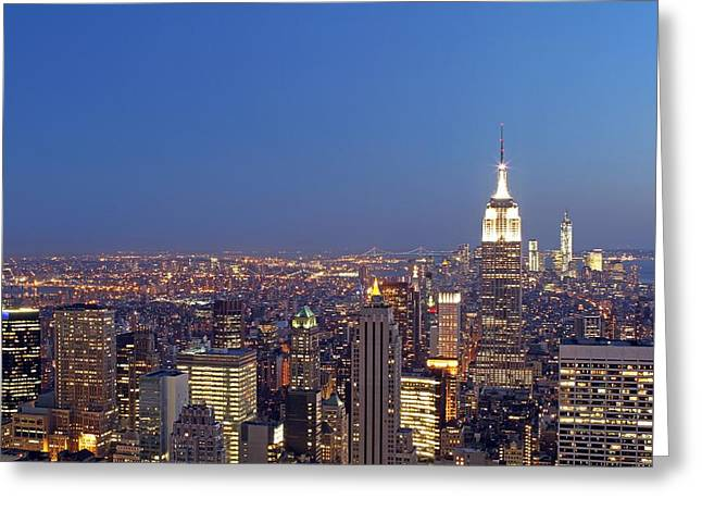 Nast Greeting Cards - New York City Greeting Card by Juergen Roth