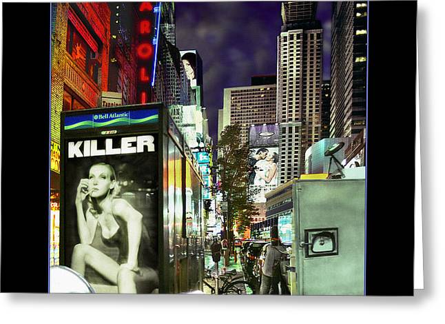 New York City Greeting Card by Mike McGlothlen